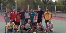 В Волгодонске пошел футбольный матч между участниками второго и третьего...