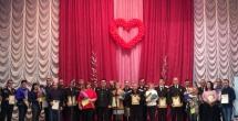 В г. Крымске прошла торжественная церемония закрытия Года добровольца (волонтера)...