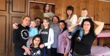 Москва - встреча с участницами реабилитации.