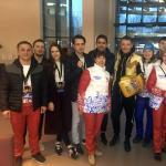 Помощь наших волонтёров на Первом Международном боксерском форуме в Сочи.