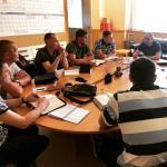 Воронеж. Ежемесячное отчетное собрание руководителей реабилитационных центров.